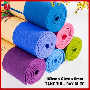 Thảm tập yoga tpe 1 lớp