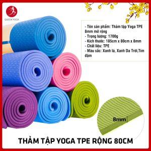 Thảm tập yoga TPE 80cm