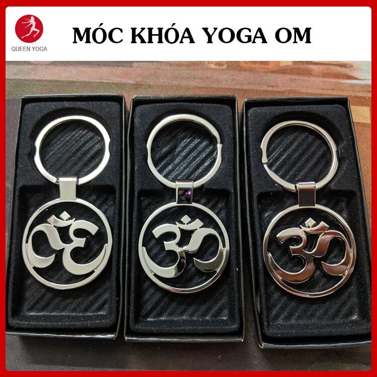 Móc khóa Yoga biểu tượng OM