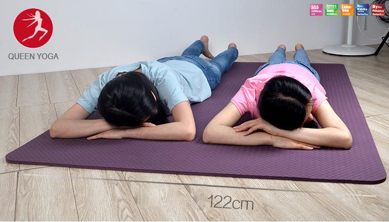 Thảm tập Yoga TPE BODHI kích thước lớn