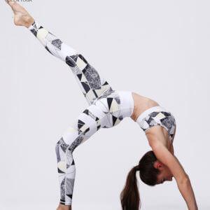 Bộ tập Yoga họa tiết cao cấp