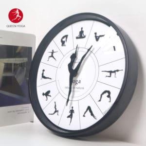 Đồng hồ Yoga treo tường