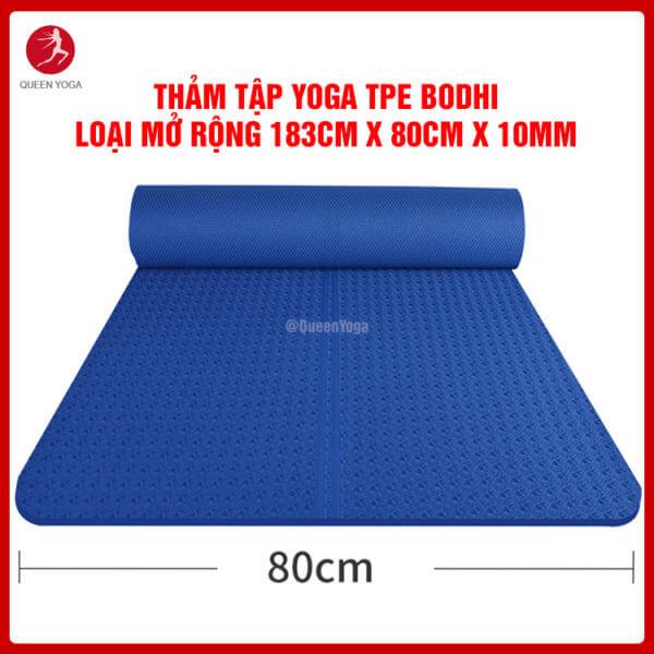 Thảm Tập Yoga TPE Định Tuyến BODHI Cao Cấp Loại Mở Rộng